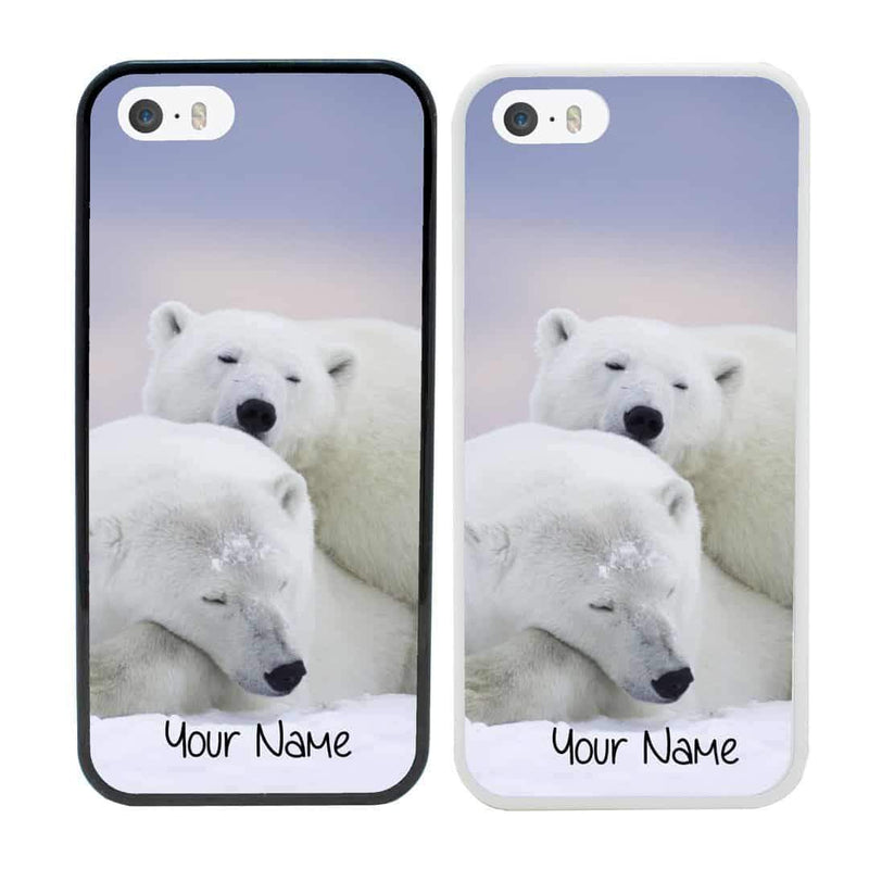 Personalised Artic Animals Case Phone Cover for Apple iPhone 7 Plus I-Choose Ltd