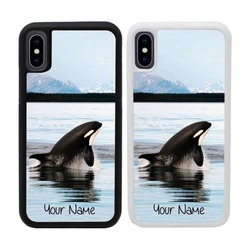 Personalised Artic Animals Case Phone Cover for Apple iPhone XS Max I-Choose Ltd