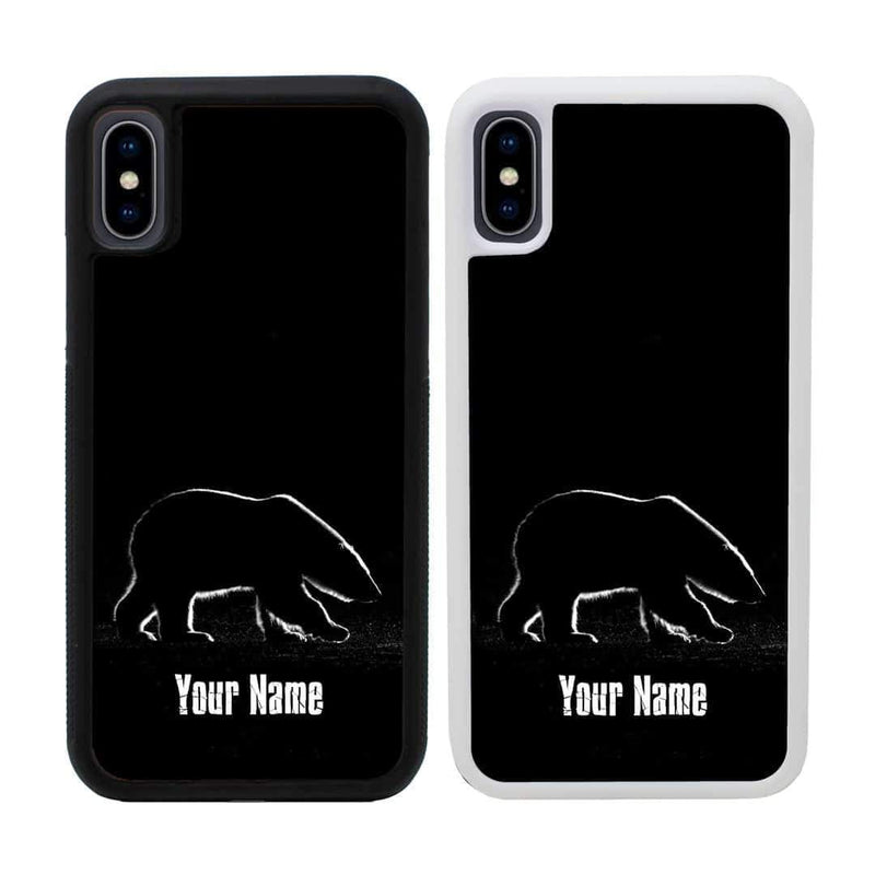 Personalised Artic Black and White Case Phone Cover for Apple iPhone X XS 10 I-Choose Ltd
