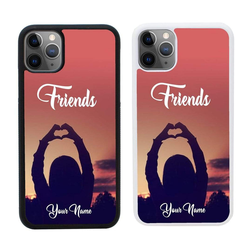 Personalised Best Friends Case Phone Cover for Apple iPhone 11 Pro Max I-Choose Ltd