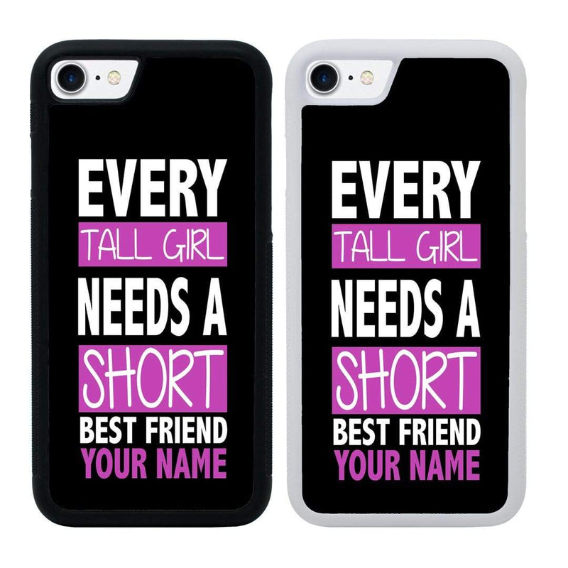 Personalised Best Friends Case Phone Cover for Apple iPhone 7 Plus I-Choose Ltd