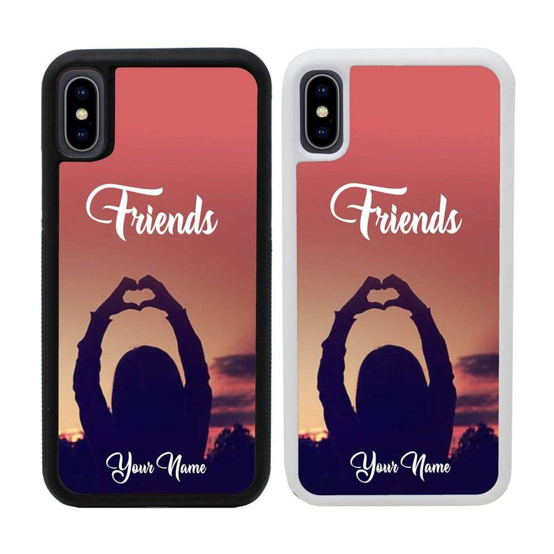 Personalised Best Friends Case Phone Cover for Apple iPhone X XS 10 I-Choose Ltd