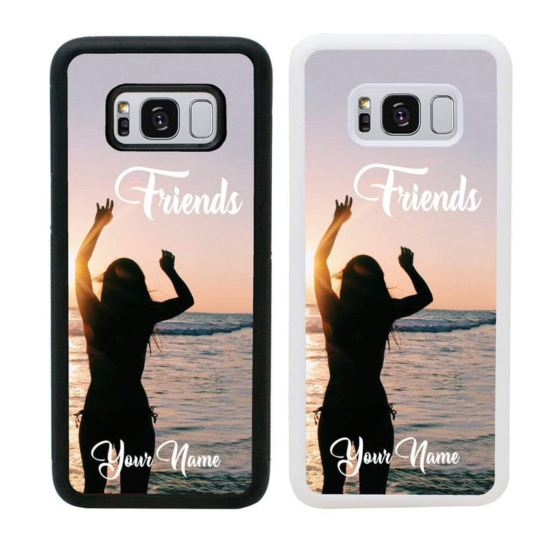 Personalised Best Friends Case Phone Cover for Samsung Galaxy S10E I-Choose Ltd