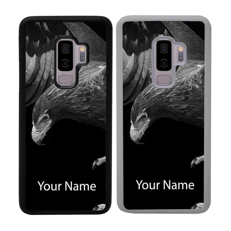 Personalised Black and White Eagle Case Phone Cover for Samsung Galaxy S10 I-Choose Ltd