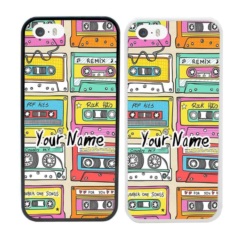 Personalised Cassette Tape Case Phone Cover for Apple iPhone 6 6s I-Choose Ltd
