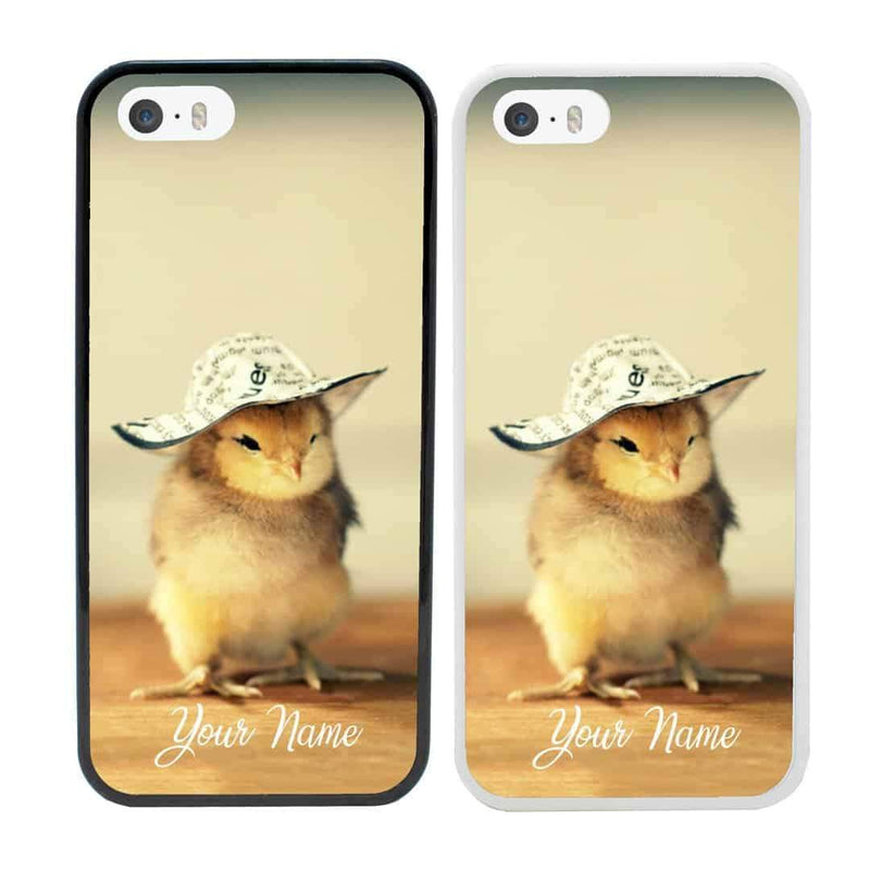 Personalised Chicken Case Phone Cover for Apple iPhone 8 Plus I-Choose Ltd