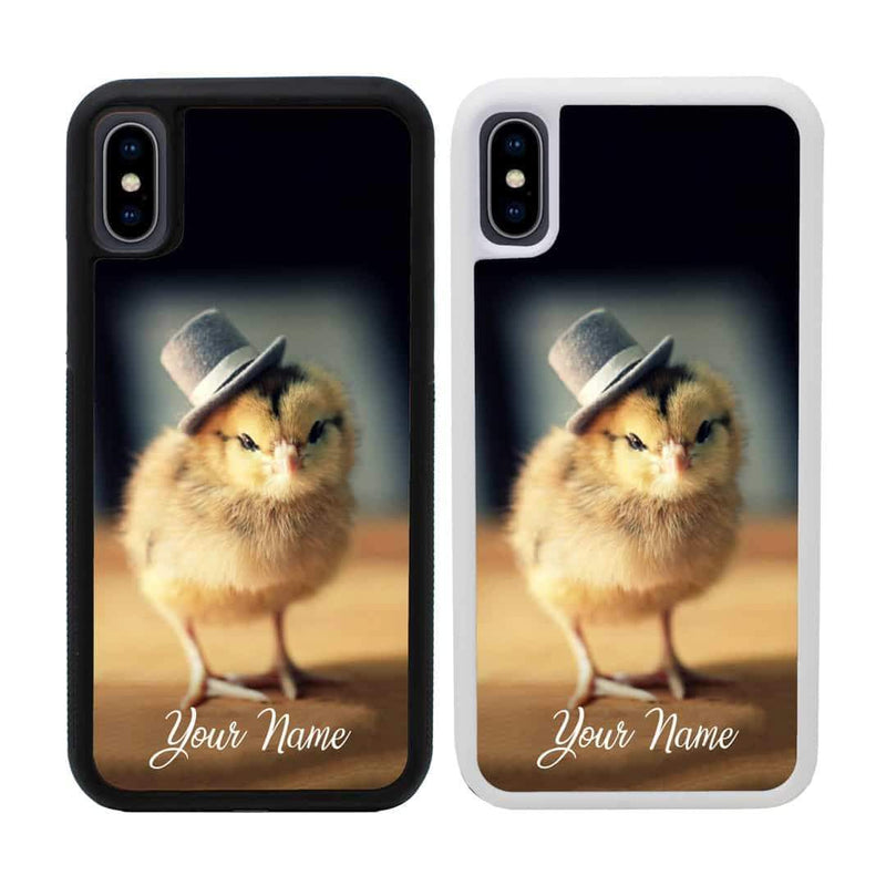 Personalised Chicken Case Phone Cover for Apple iPhone XS Max I-Choose Ltd