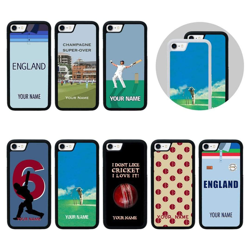 Personalised Cricket Case Phone Cover for Apple iPhone 6 6s I-Choose Ltd