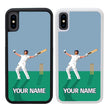 Personalised Cricket Case Phone Cover for Apple iPhone XR I-Choose Ltd