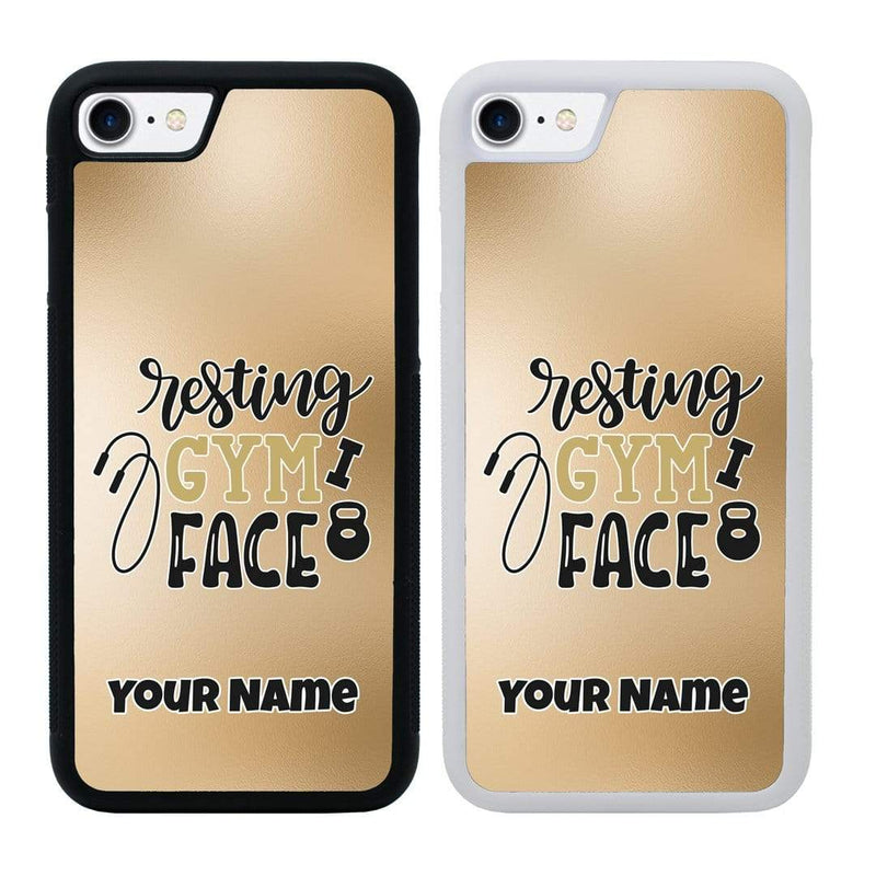 Personalised Gym Case Phone Cover for Apple iPhone 7 I-Choose Ltd