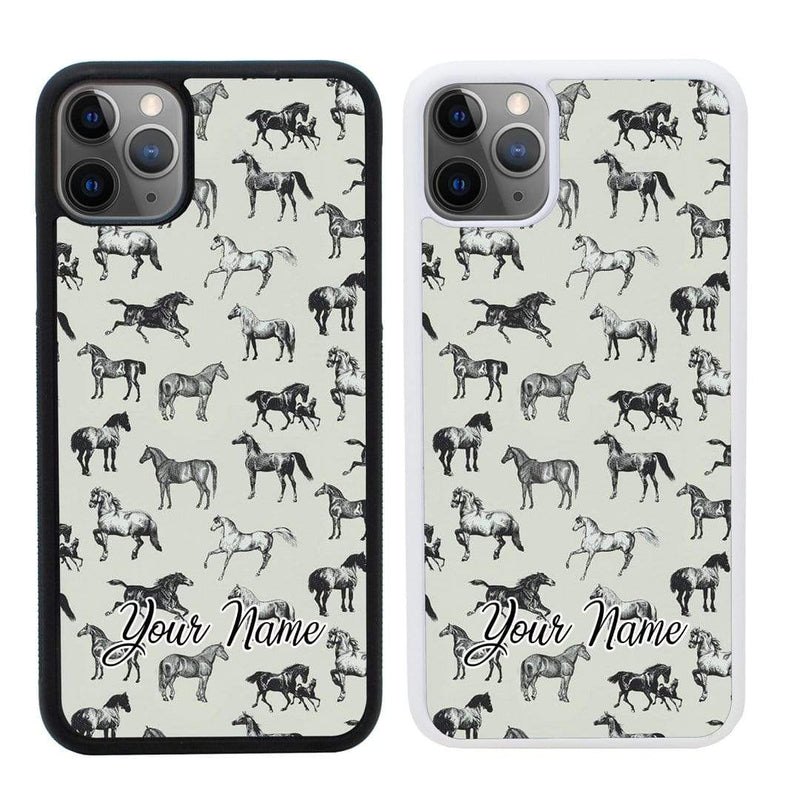 Personalised Horse Case Phone Cover for Apple iPhone 11 I-Choose Ltd