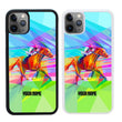 Personalised Horse Racing Case Phone Cover for Apple iPhone 11 I-Choose Ltd