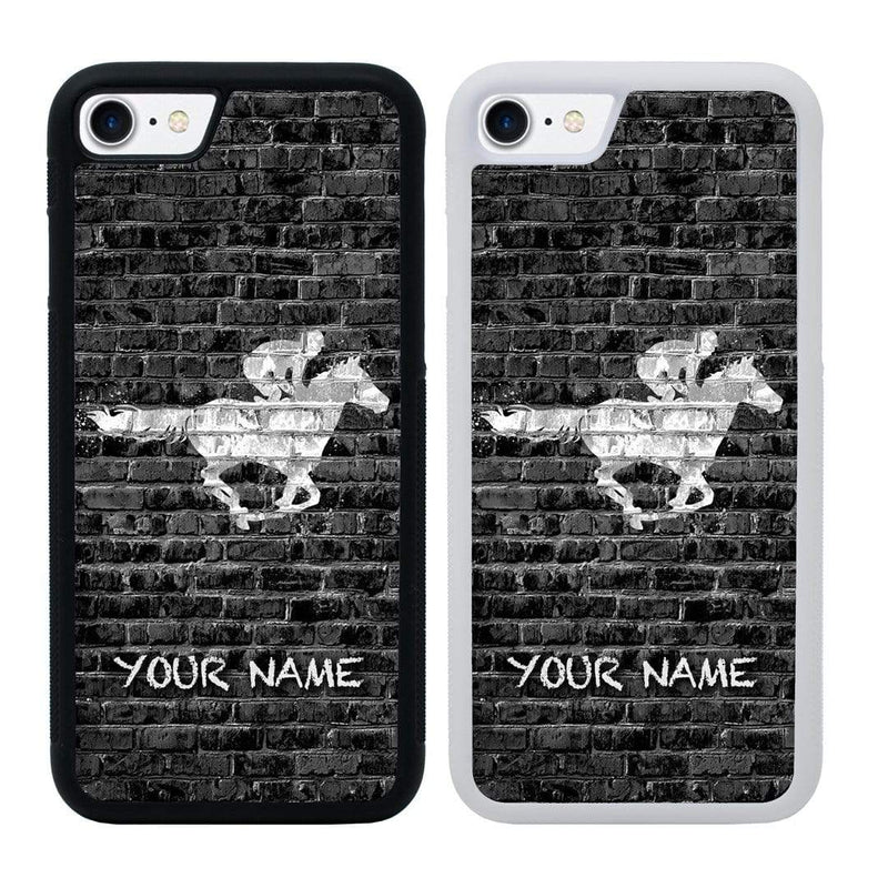 Personalised Horse Racing Case Phone Cover for Apple iPhone 7 Plus I-Choose Ltd