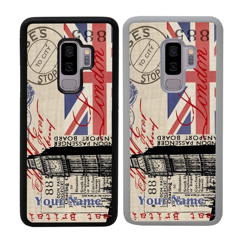 Personalised London Case Phone Cover for Samsung Galaxy S9 Plus I-Choose Ltd