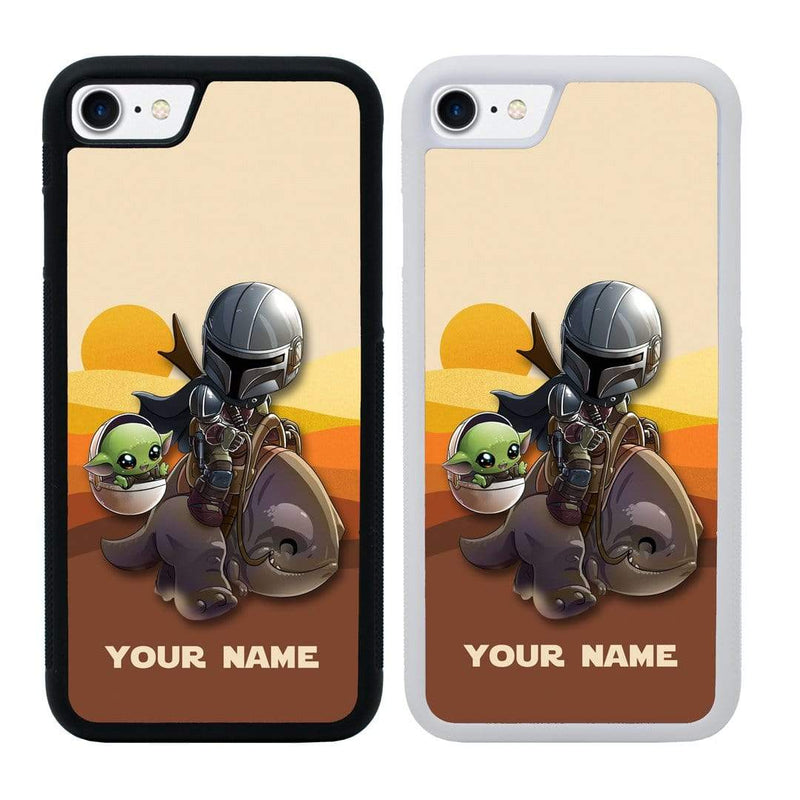 Personalised Mandalorian Case Phone Cover for Apple iPhone 7 I-Choose Ltd