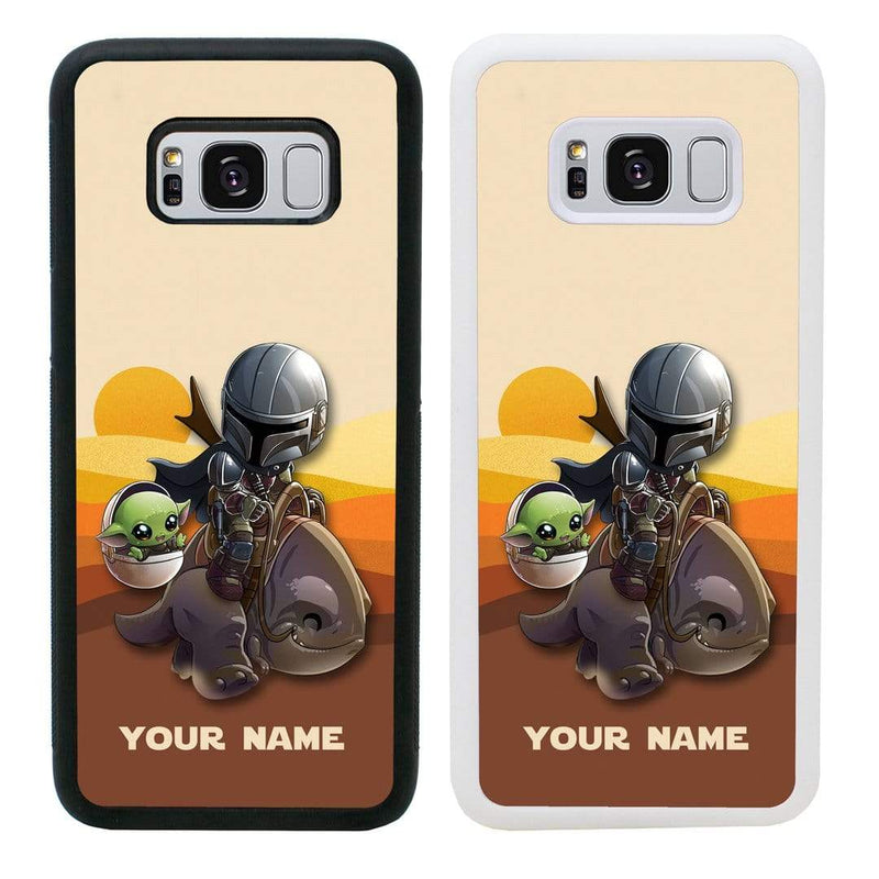 Personalised Mandalorian Case Phone Cover for Samsung Galaxy S10E I-Choose Ltd