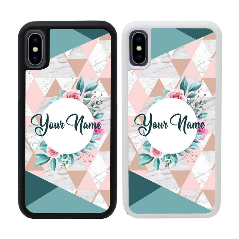 Personalised Marble Case Phone Cover for Apple iPhone XR I-Choose Ltd