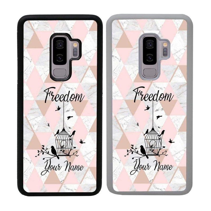 Personalised Marble Case Phone Cover for Samsung Galaxy S9 I-Choose Ltd