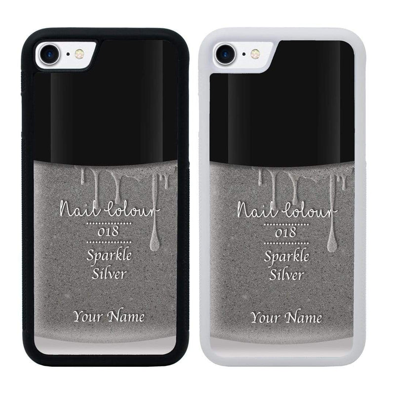 Personalised Nail Polish Case Phone Cover for Apple iPhone 8 I-Choose Ltd
