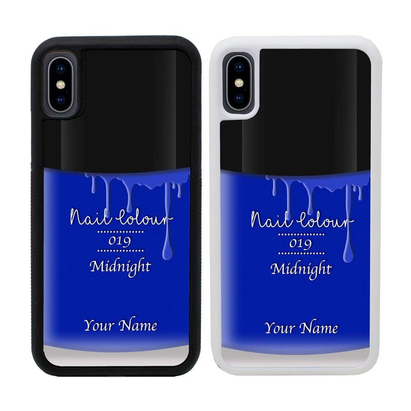 Personalised Nail Polish Case Phone Cover for Apple iPhone X XS 10 I-Choose Ltd