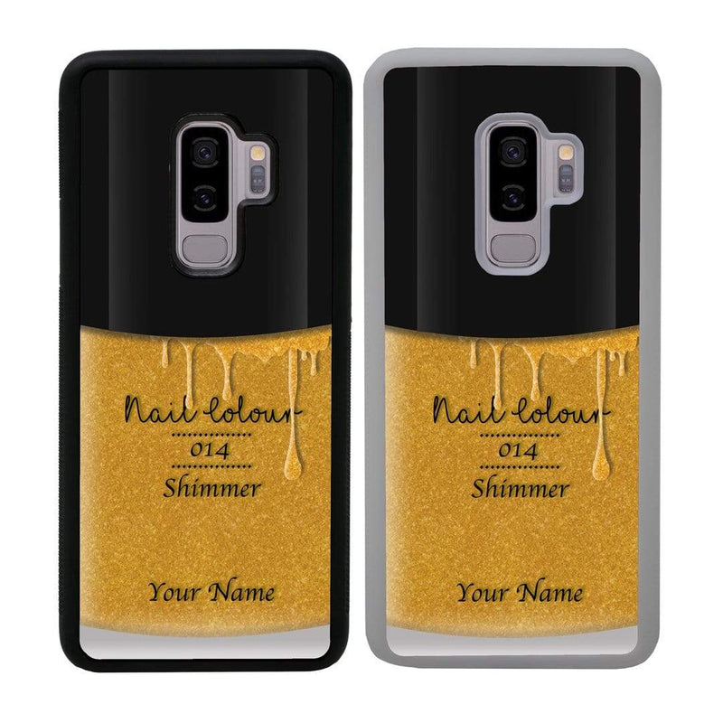 Personalised Nail Polish Case Phone Cover for Samsung Galaxy S9 I-Choose Ltd