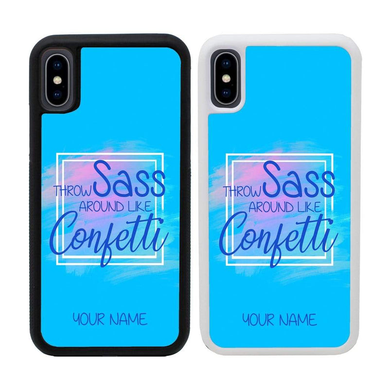 Personalised Sassy Case Phone Cover for Apple iPhone XR I-Choose Ltd