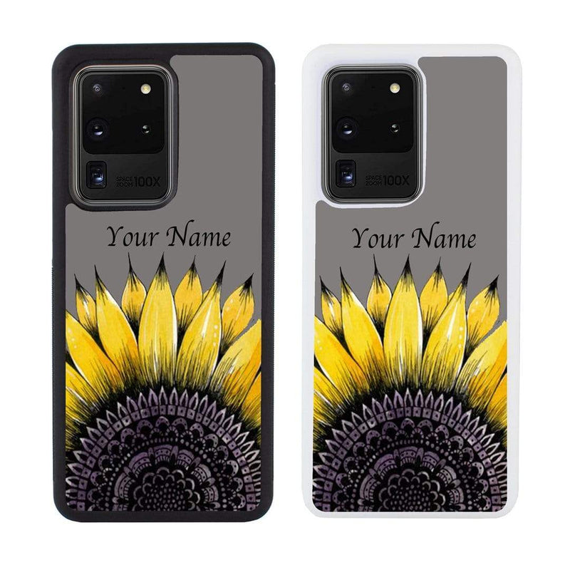 Personalised Sunflower Case Phone Cover for Samsung Galaxy S20 Ultra I-Choose Ltd