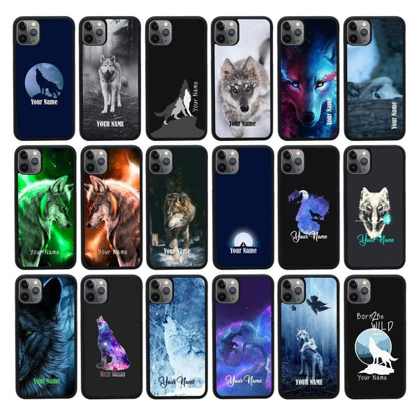 Personalised Wolf Case Phone Cover for Apple iPhone 11 Pro Max I-Choose Ltd