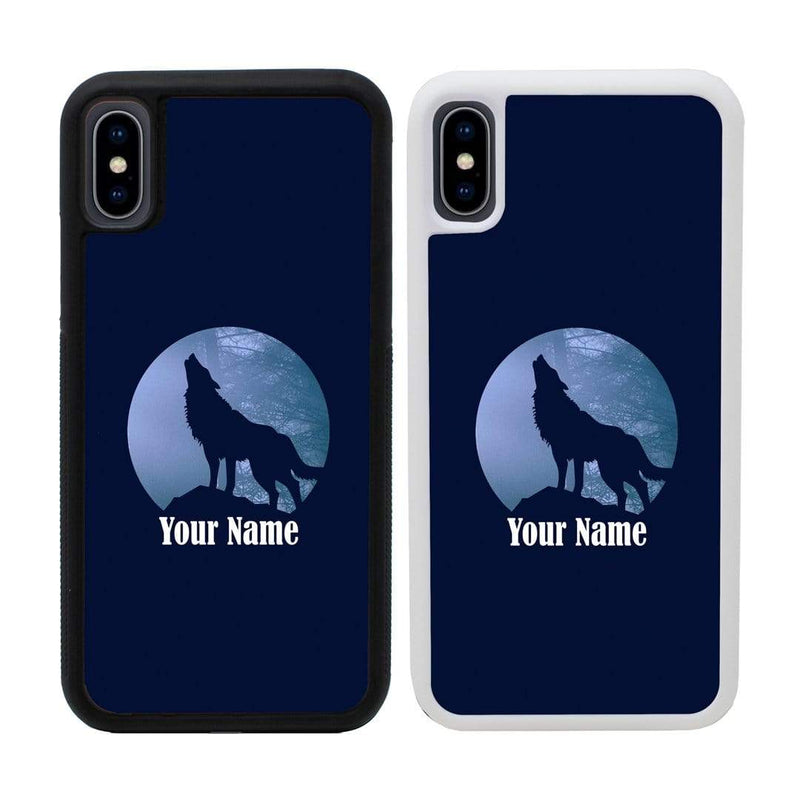 Personalised Wolf Case Phone Cover for Apple iPhone XS Max I-Choose Ltd