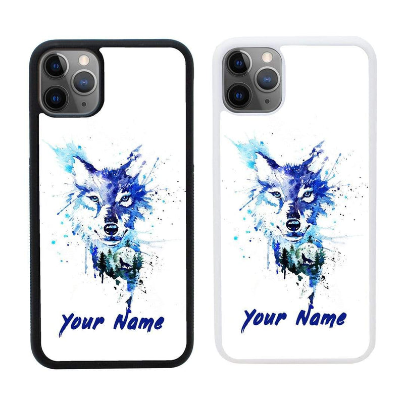 Personalised Wolves Case Phone Cover for Apple iPhone 11 Pro Max I-Choose Ltd