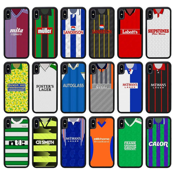 Retro Football Shirt Case Phone Cover for Apple iPhone X XS 10 I-Choose Ltd