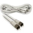 RG59 Coaxial Cable with F Connectors 75ohm White 1.5m I-Choose Ltd