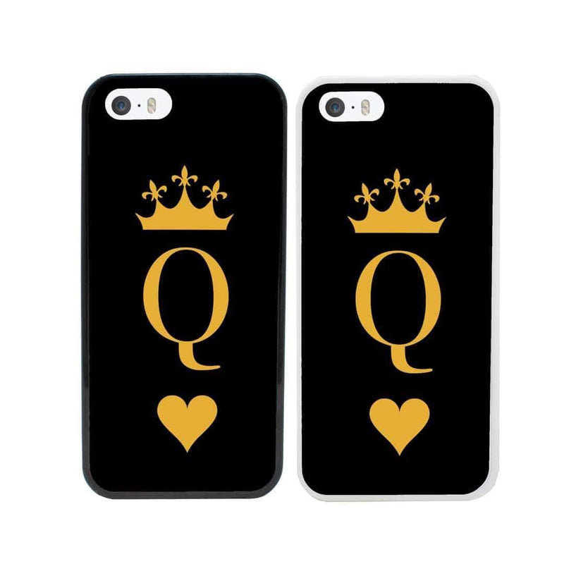 Queen Card Royal Case Phone Cover for Apple iPhone X XS 10