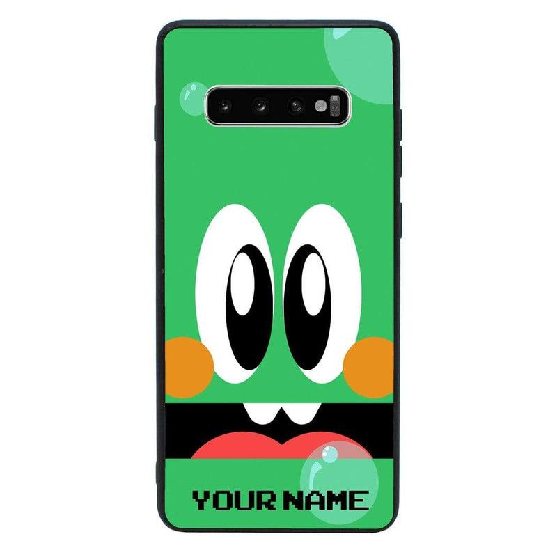 Samsung Galaxy S10 Plus Personalised Name Case Glass Cover / Retro I-Choose Ltd