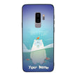 Samsung Galaxy S9 Personalised Name Case Glass Cover / Funny Animal Quips I-Choose Ltd
