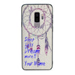 Samsung Galaxy S9 Plus Personalised Name Case Glass Cover / Dream Catcher I-Choose Ltd