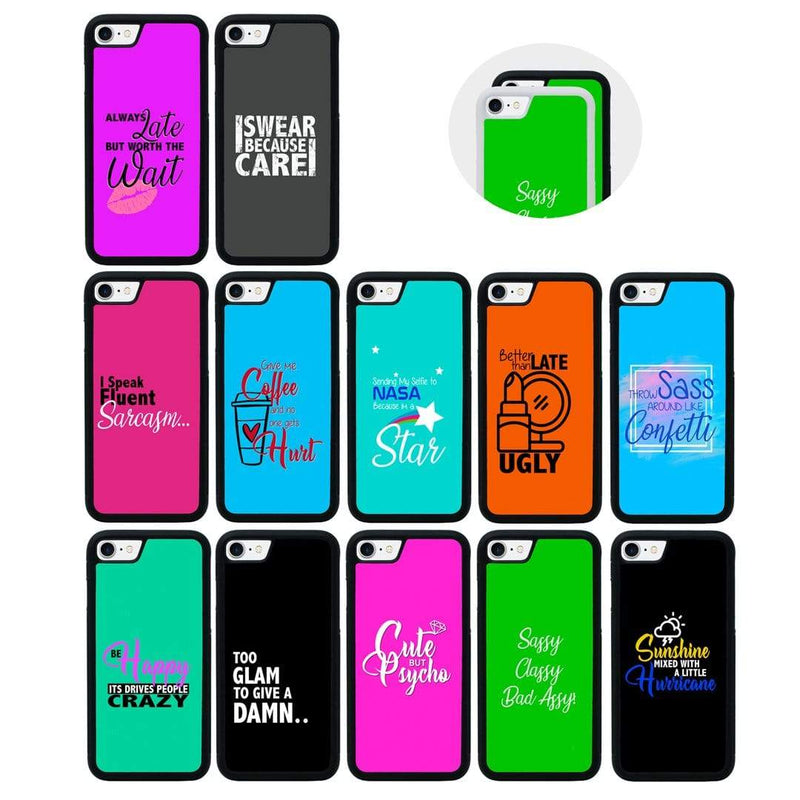 Sassy Case Phone Cover for Apple iPhone 8 Plus I-Choose Ltd