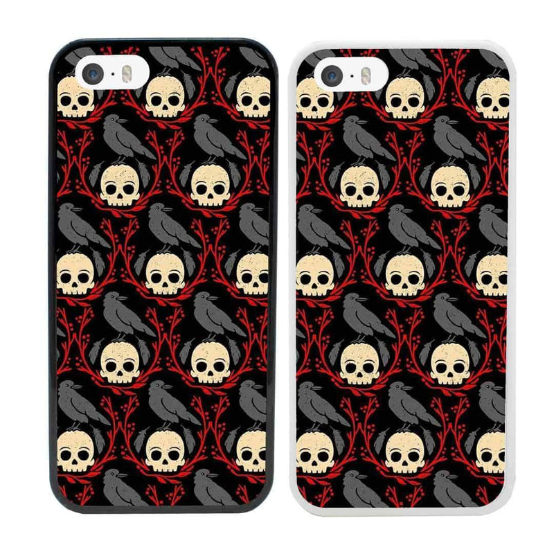 Skulls Case Phone Cover for Apple iPhone 8 Plus I-Choose Ltd