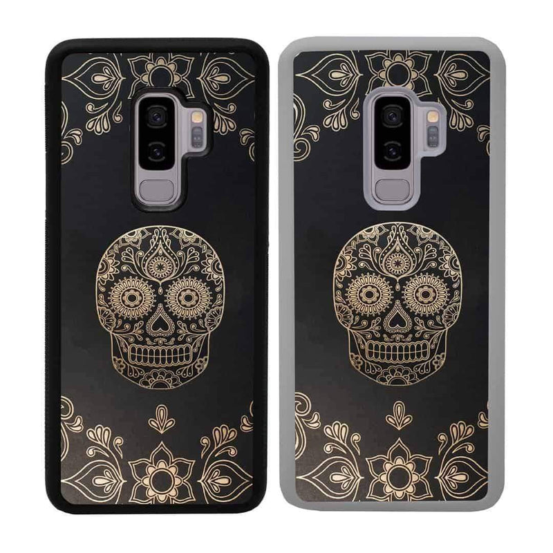 Skulls Case Phone Cover for Samsung Galaxy S9 Plus I-Choose Ltd