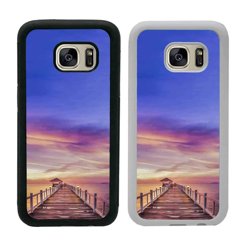 Pier Sunset Case Phone Cover for Samsung Galaxy S9