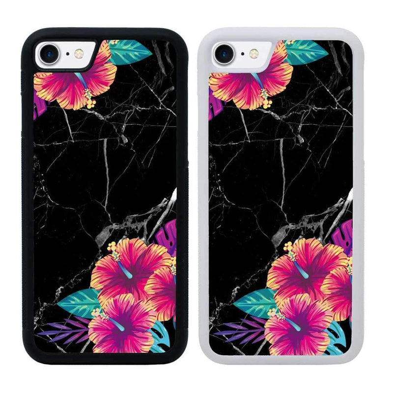 Tropical Marble Case Phone Cover for Apple iPhone 7 I-Choose Ltd