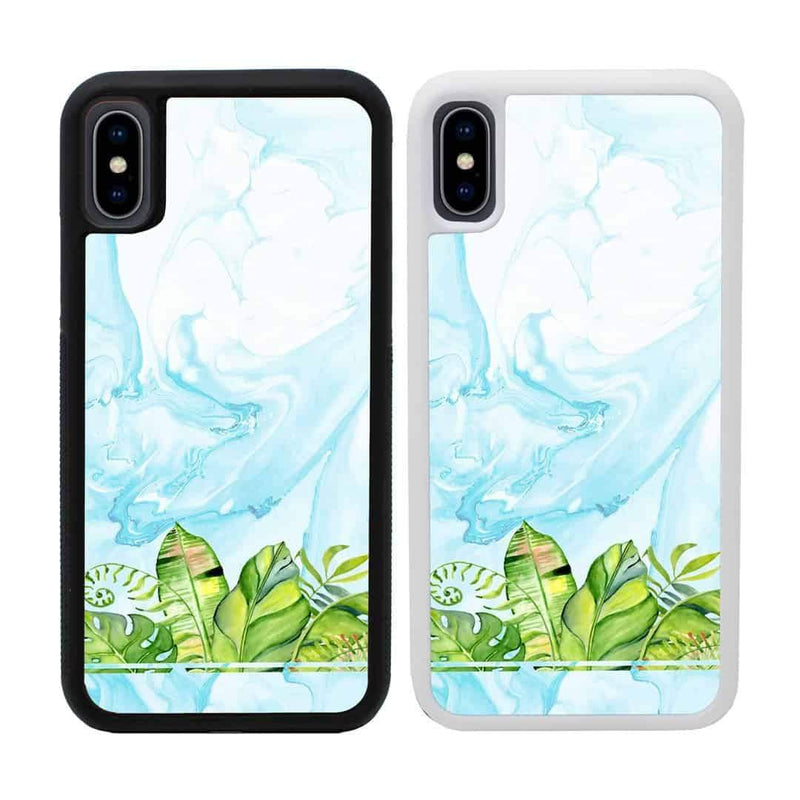 Tropical Marble Case Phone Cover for Apple iPhone XR I-Choose Ltd