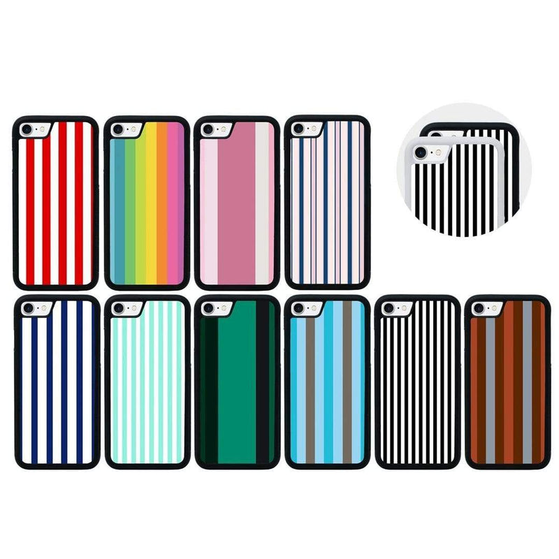 Vertical Stripes Case Phone Cover for Apple iPhone 7 I-Choose Ltd