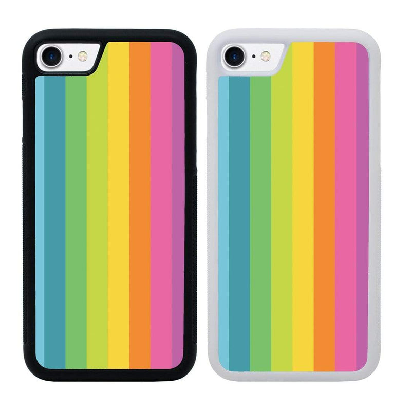 Vertical Stripes Case Phone Cover for Apple iPhone 7 Plus I-Choose Ltd