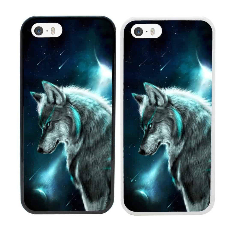 Wolves Case Phone Cover for Apple iPhone 8 Plus I-Choose Ltd
