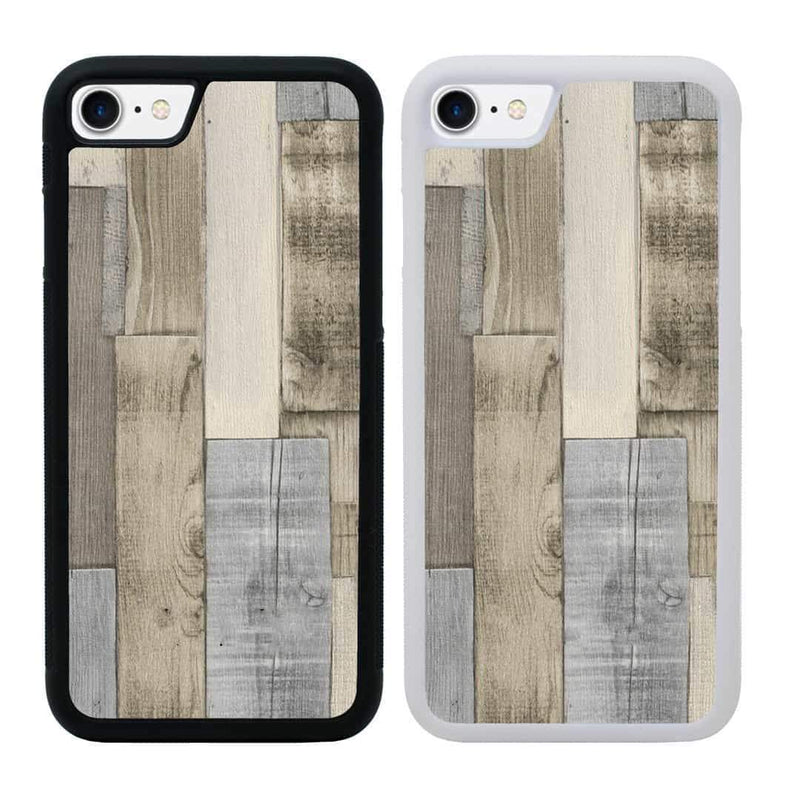 Wood Effect Case Phone Cover for Apple iPhone 8 Plus I-Choose Ltd