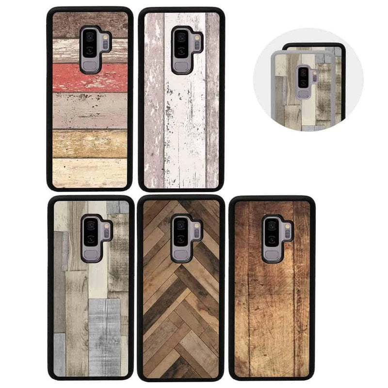 Wood Effect Case Phone Cover for Samsung Galaxy S10 I-Choose Ltd