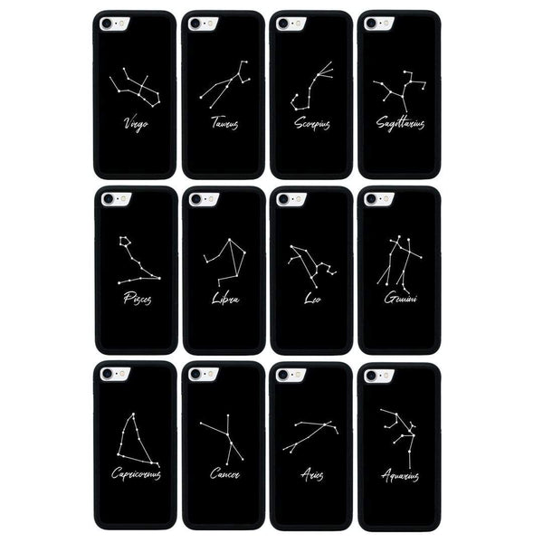 Zodiac Case Phone Cover for Apple iPhone 8 Plus I-Choose Ltd