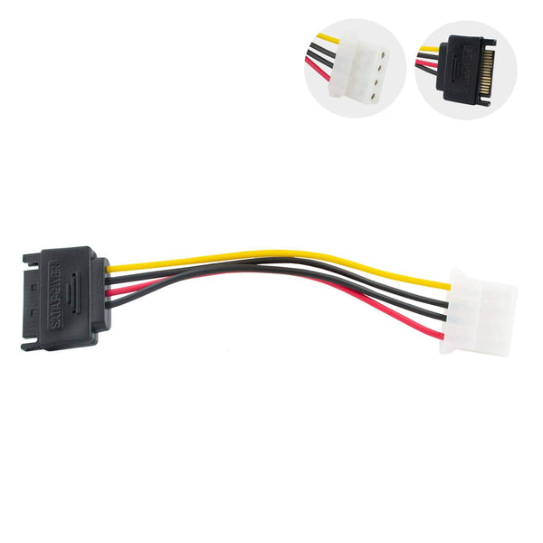Cablexpert Internal 15-Pin SATA to 4-Pin Molex Power Cable iChoose Ltd