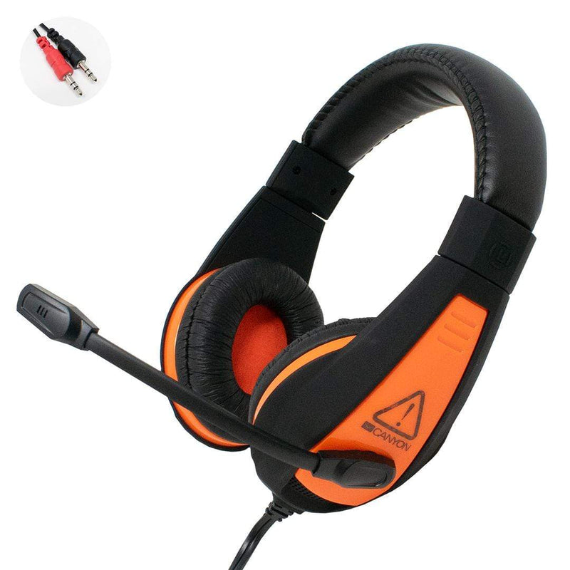 Canyon CND-SGHS1 3.5mm Lightweight Gaming Headset with Mic iChoose Ltd